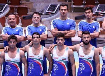 Iran men's national Greco-Roman wrestling team