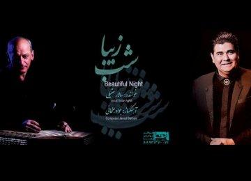 Javad Bat'hai (L) and Salar Aqili