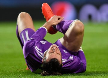 Bale at Odds With Pitch