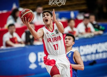 Matin Aghajanpour earned 39 points to carry Iran's cause in the pivotal encounter.
