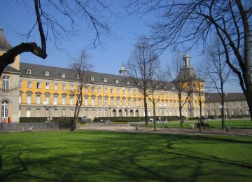 Administrative buildings of Bonn University