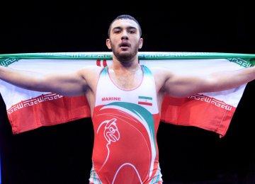 Amir Zare won gold at the tournament.