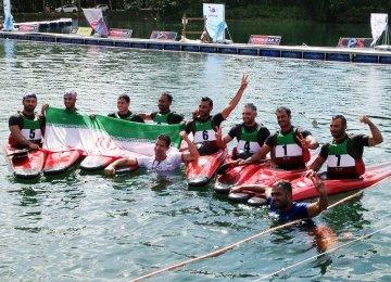 Canoe Polo Teams Win Gold, Silver in Malaysia