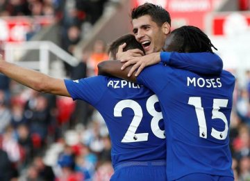 Chelsea Thumps Stoke City 4-0