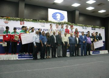 Young Chess Players Take Bronze in India
