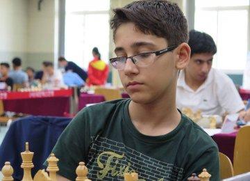 Junior Chess Player Wins Open Tournament