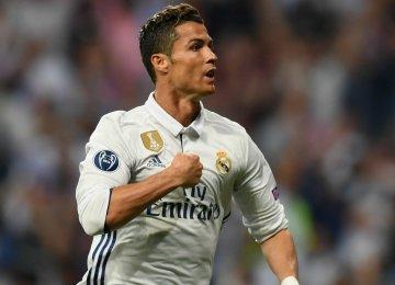 Ronaldo Reaches 100 European Goals