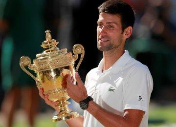 Djokovic Ends Title Drought