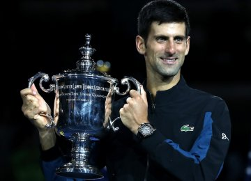 3rd US Open Title for Djokovic