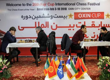 24 Nations at Chess Tournament in Amol