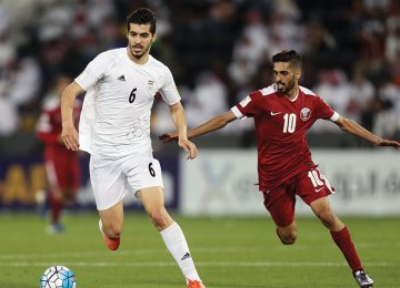 Ezatolahi Misses First Game at FIFA World Cup