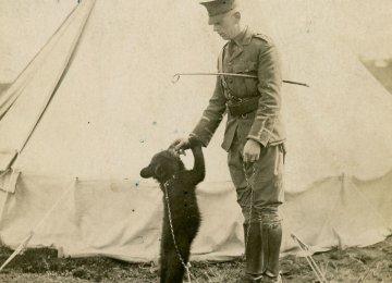 Winnie and Harry Colebourn