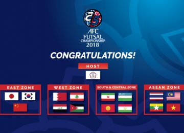 Asia Best Complete for Futsal Championship