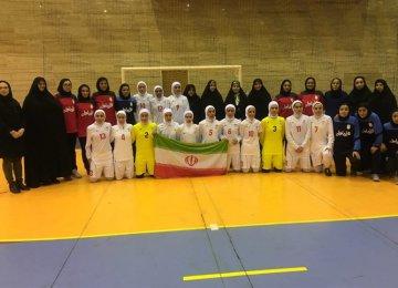 Women Futsal Team Defeats Italy