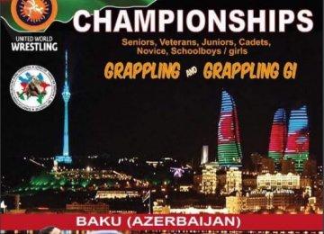 Grapplers Grab Gold, Silver in Azerbaijan