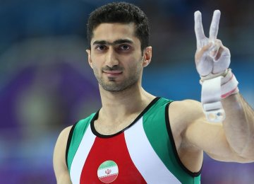 Gymnast Wins Silver in Toyota Competition