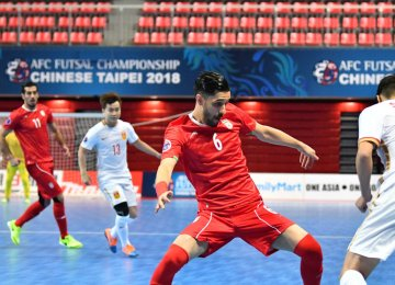 Iran gained its second decisive victory after thrashing Myanmar 14-0 in the first group match.