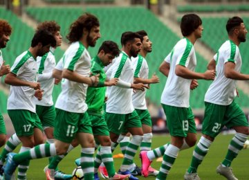 Iraq Will Play First-Ever Football Game in Palestine