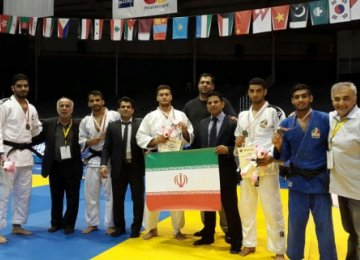 6th Place for Junior Judokas in Asian Championships