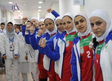 Women's Kabaddi Team Beats S. Korea in Friendly