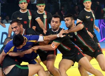 Iran has finished runner-up in the Kabaddi World Cup twice.