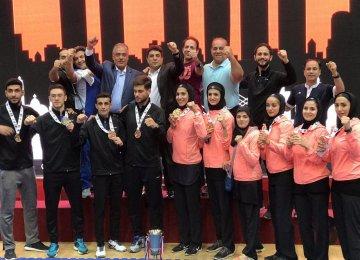 Karatekas Take 7 Medals in Asian Championship