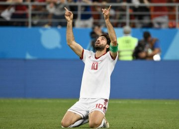 Karim Ansarifard Linked to Nottingham Forest Move