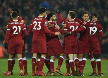 Liverpool Cuts Man City Winning Streak