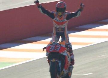 Marquez Wins 2017 MotoGP Title