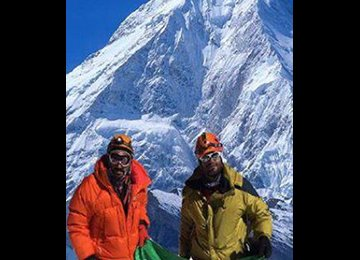 Iran Mountaineers Ascend Himalayan Peak