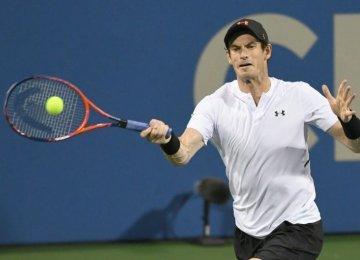 Andy Murray Makes Emotional Return