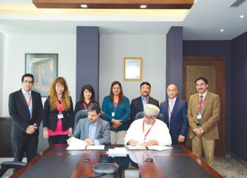 Cultural Collaboration With Oman on 2 Languages