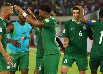 Nigeria First African Team in  Soccer World Cup Russia