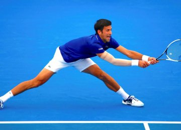 Djokovic Back With Bang at Kooyong Classic Exhibition