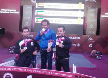 Para Powerlifters Win 2 Medals in Mexico