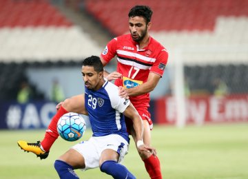 Persepolis suffered a 0-4 defeat to Saudi Arabia's Al Hilal in the first leg.