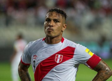 Peru Captain Out of World Cup