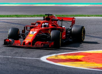 F1 Power Shifts From Mercedes to Ferrari