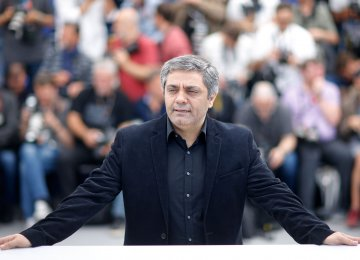 Mohammad Rasoulof at Cannes 2017