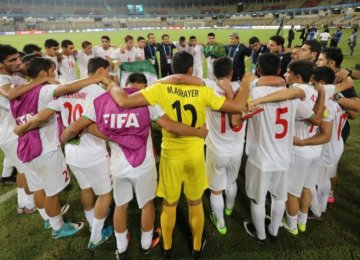 Promising Players Prepare for Team Melli