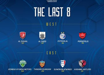 Esteghlal and Persepolis Await Quarterfinal Draw