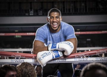 Anthony Joshua Sets New Guinness World Record