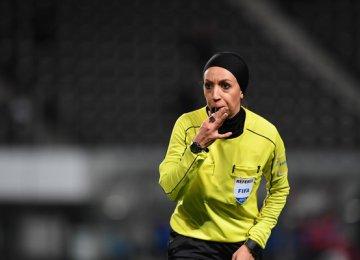 Referee Mahsa Qorbani Broadens Her Horizons