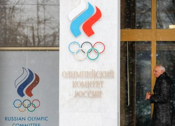 Russia Suggests 2018 Winter Games Alternative for Banned Athletes