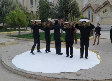 Street Plays Commemorate Iraq-Iran War