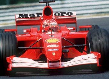 Michael Schumacher's F2001