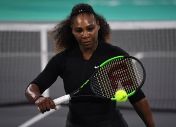Serena Williams Pulls Out of Australian Open