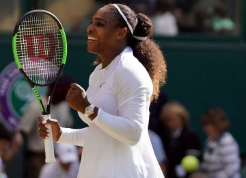 Serena Williams Advances to Wimbledon Semifinals