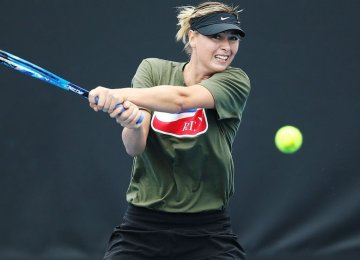 Sharapova in Good Form for Australian Open