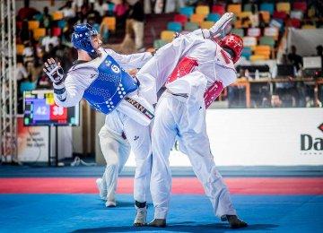 Taekwondokas Conquer World Team Championships